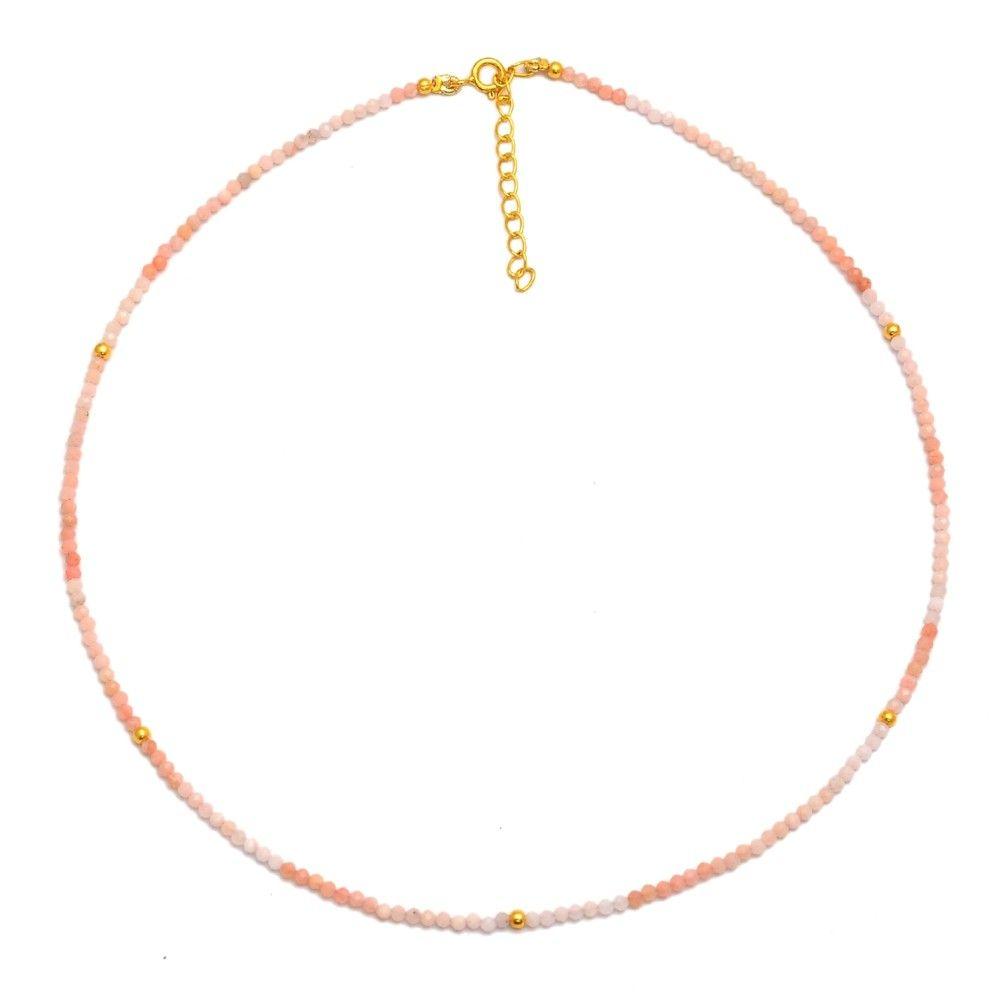 Collar Mineral Choker Oro